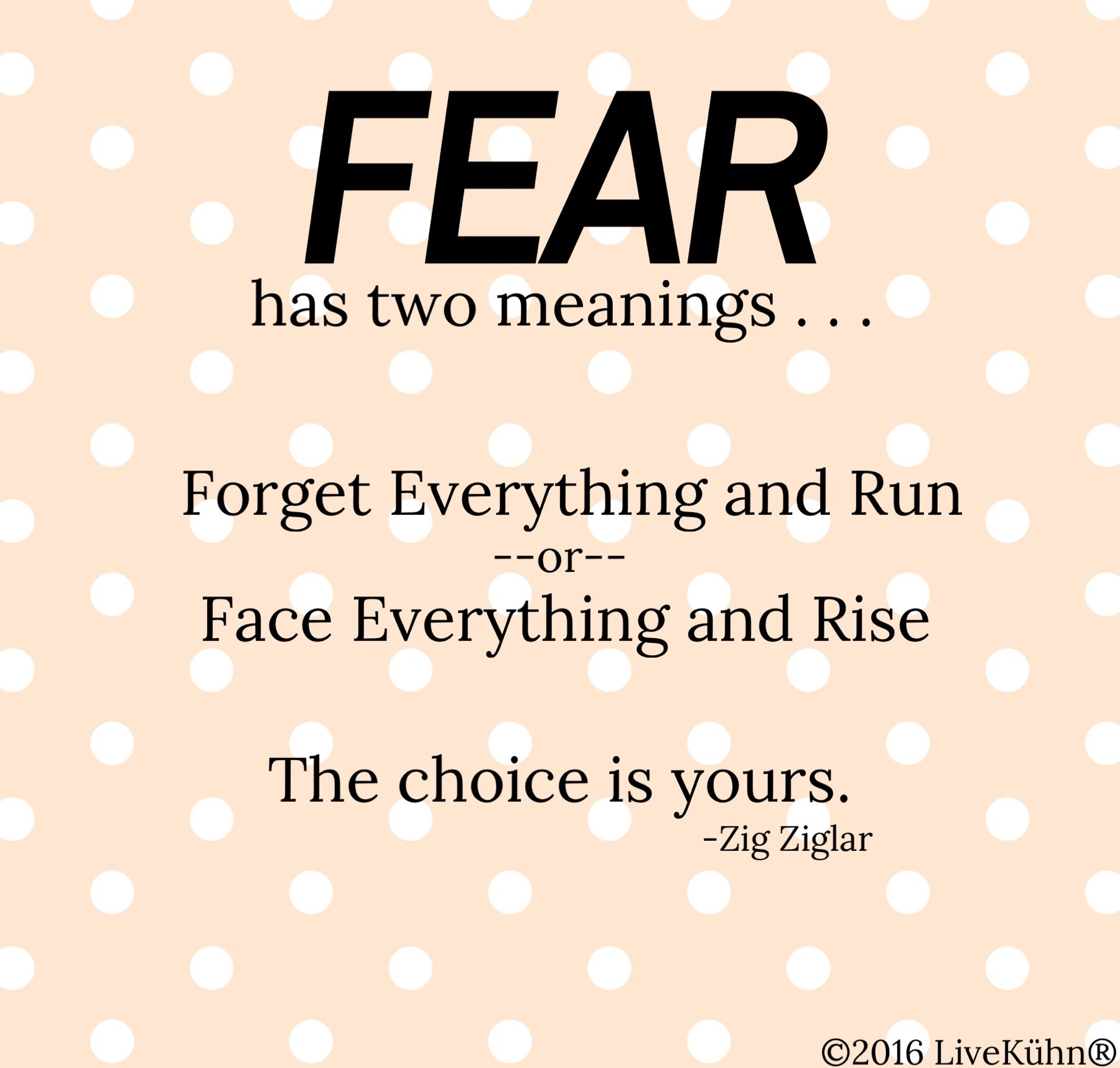 Fear in Figure Skating Sports Psychology Quote